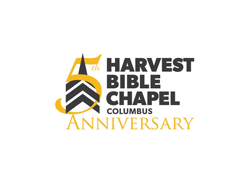 Logo design and branding – Harvest Bible Chapel Columbus 5th year anniversary